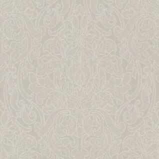 Casa Padrino Barock Textiltapete Beige / Creme 10, 05 x 0, 53 m - Deko Accessoires