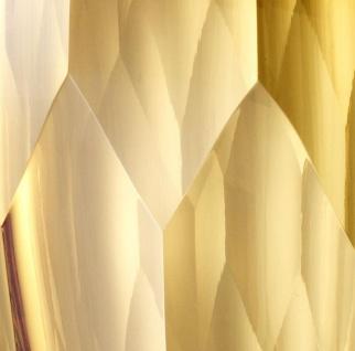 Casa Padrino Luxus Deko Glas Vase Gelb Ø 12 x H. 14 cm - Luxus Qualität - Vorschau 4