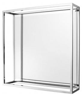 Casa Padrino Luxus Spiegel 60 x H. 60 cm - Designer Wandspiegel