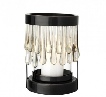 Casa Padrino Art Deco Kerzenleuchter Bronze Durchmesser 14 x H. 20 cm - Luxus Kollektion - Vorschau