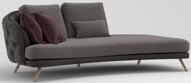Casa Padrino Luxus Chesterfield 2-Sitzer Sofa Grau / Braun 220 x 95 x H. 85 cm - Schlafsofa - Schlafcouch - Wohnzimmer Möbel