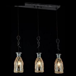 Casa Padrino Barock Decken Kronleuchter Schwarz 62 x H 127 cm Antik Stil - Möbel Lüster Leuchter Deckenleuchte Hängelampe