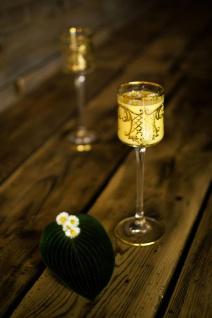 Casa Padrino Luxus Barock Likörglas 6er Set Gold Ø 6 x H. 17, 5 cm - Handgefertigte und handbemalte Likörgläser - Hotel & Restaurant Accessoires - Luxus Qualität - Vorschau 3