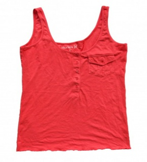 Hurley Skateboard Damen T-Shirt Red