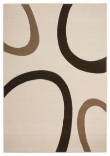 Casa Padrino Design Teppich Elfenbein - Designer Teppich