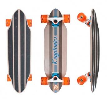 Kryptonics Longboard Cruiser Komplettboard Cali Groove 7.25 x 26 Inch