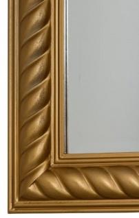 Casa Padrino Barock Spiegel / Wandspiegel Antik Gold 62 x H. 82 cm - Möbel im Barockstil - Vorschau 3