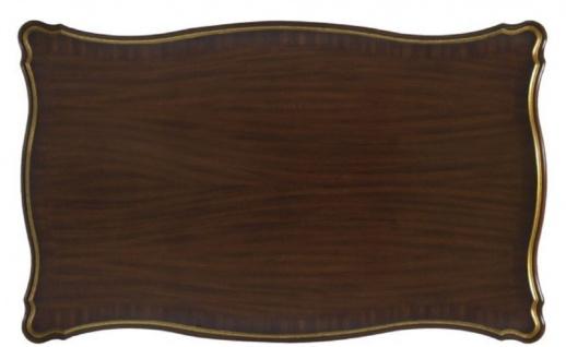 Casa Padrino Luxus Barock Couchtisch Dunkelbraun / Gold 117 x 72 x H. 42 cm - Barock Wohnzimmermöbel - Vorschau 4