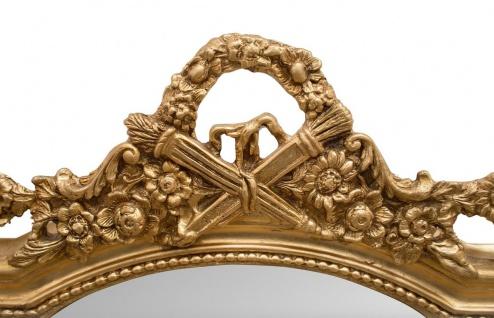 Casa Padrino Barock Wandspiegel Gold 115 x H. 207 cm - Barockstil Spiegel Antik Stil Möbel - Vorschau 2