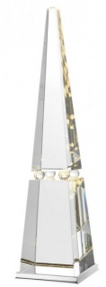Casa Padrino Luxus Tischleuchte Kristallglas - Luxury Collection