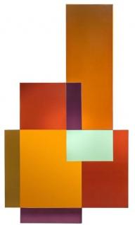 Casa Padrino Designer Spiegel Mehrfarbig 80 x H. 140 cm - Garderobenspiegel - Wohnzimmer Spiegel - Handgefertigt - Luxus Qualität - Designer Möbel