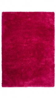 Casa Padrino Designer Teppich Unicolor Pink - Möbel Teppich