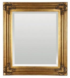 Casa Padrino Barock Wandspiegel Gold H 79 cm, B 69 cm - Edel & Prunkvoll