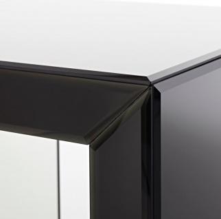 Casa Padrino Luxus Beistelltisch im Säulen Design Schwarz 46 x 46 x H. 112 cm - Luxus Qualität - Vorschau 3