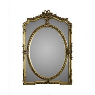 Casa Padrino Luxus Wandspiegel 80 x H. 125 cm - Barock Spiegel