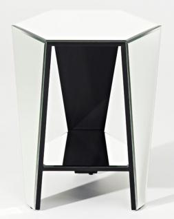 Casa Padrino Luxus Spiegelglas Beistelltisch 45 x 40 x H. 56 cm - Designermöbel - Vorschau 2