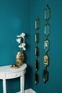 Casa Padrino Designer Metall Spiegel Set Gold 148 cm - Luxus Wandspiegel 2er Set - Vorschau 3