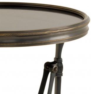 Casa Padrino Beistelltisch in rotguss mit Granitplatte 36 x H. 100 cm - Luxus Qualität - Vorschau 2