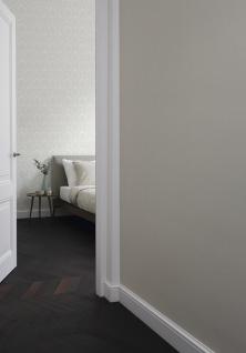 Casa Padrino Barock Viscose Textiltapete / Stofftapete Weiß - 10, 05 x 0, 53 m - Tapete im Barockstil - Vorschau 3
