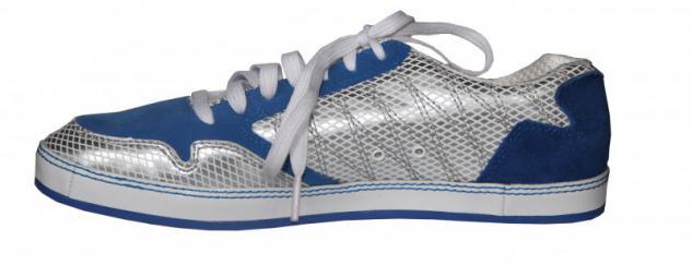 K1X Skateboard Damen Schuhe Blue/ Silver sneakers shoes - Vorschau 2