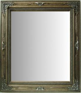 Casa Padrino Antik Stil Wandspiegel Antik Silber B.60 x H.90 cm - Barock Wohnzimmer Möbel