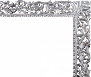 Casa Padrino Barock Holz Bilderrahmen 150 x 160 cm Silber - Großer Fernseher Bilder Rahmen - Jugendstil Antik Stil - Vorschau 2
