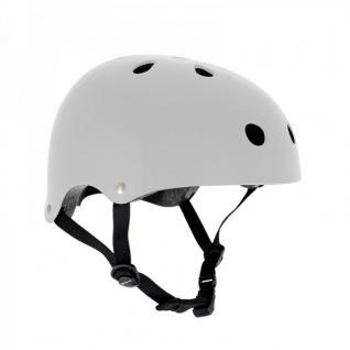 SFR Skateboard / Scooter / Inliner / BMX / Rollschuh Schutz Helm - Weiß - Skateboard Schutzausrüstung
