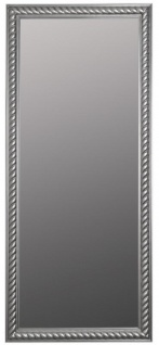 Casa Padrino Barock Wohnzimmer Wandspiegel Antik Silber 72 x H. 162 cm - Handgefertigter Spiegel im Barockstil