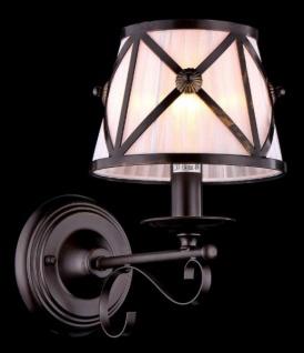 Casa Padrino Barock Wandleuchte Dunkelbraun 18, 5 x H 29, 9 cm Antik Stil - Wandlampe Wand Beleuchtung
