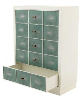 Casa Padrino Luxus Mahagoni Schrank 96, 5 x 47, 5 x H. 130 cm - Designer Möbel - Vorschau 3