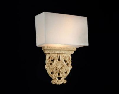 Casa Padrino Barock Wandleuchte Eiche Antik 28 x H 41 cm Antik Stil - Wandlampe Wand Beleuchtung - Vorschau