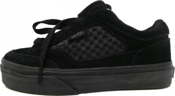Vans Skateboard Schuhe Shiner Kids Black/Black - Vorschau 1