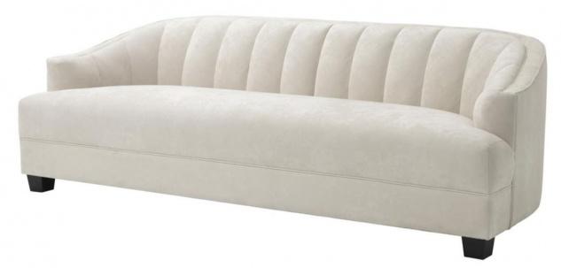 Casa Padrino Luxus Wohnzimmer Sofa 230 x 90 x H. 75 cm - Luxus Qualität