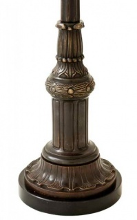 Casa Padrino Luxus Standleuchte Messing Massiv Lincoln Park - Leuchte Lampe - Tischleuchte Tischlampe - Vorschau 3
