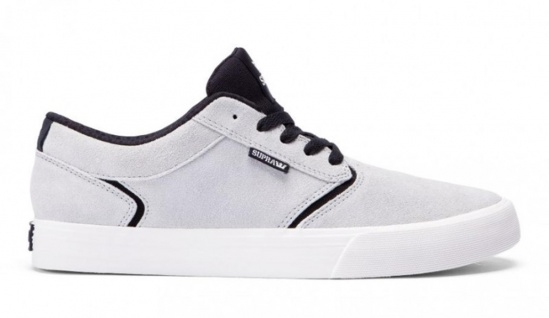 SUPRA Light Skateboard Schuhe Shredder Light SUPRA Grey Black Beliebte Schuhe 3c1de1