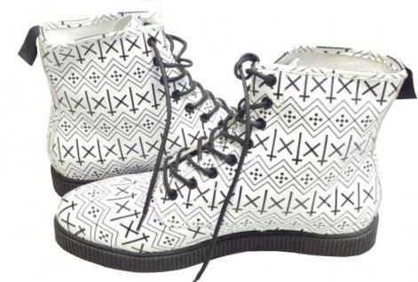 Kr3w Skateboard Schuhe- Boots Schwarz/Weiß Hohe Qualität