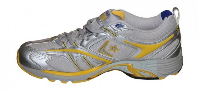 Converse Skateboard Schuhe Ride Ox M Silver/ Runner Yellow/ Royal sneakers Shoes - Vorschau 2