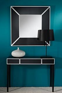 Casa Padrino Luxus Spiegelglas Konsole Schwarz 100 x 33 x H. 76 cm - Luxus Möbel & Accessoires - Vorschau 2