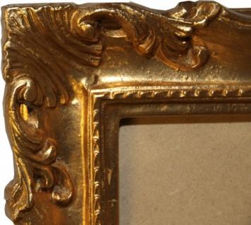 Casa Padrino Barock Holz Bilderrahmen 144 x 84 cm Gold - Großer Bilder Rahmen Foto Rahmen Jugendstil Antik Stil - Made in Italy - Vorschau 3