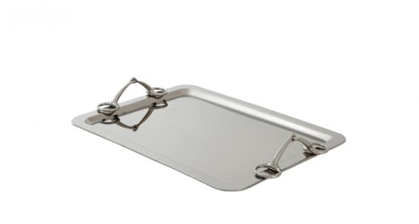 Casa Padrino Luxus Designer Tablett 63, 5 x 44, 7 x H. 8, 5 cm - Hotel Accessoires