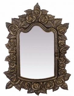 Casa Padrino Jugendstil Schlüsselkasten Antik Bronzefarben 28 x H. 38, 5 cm - Barock & Jugendstil Deko Accessoires