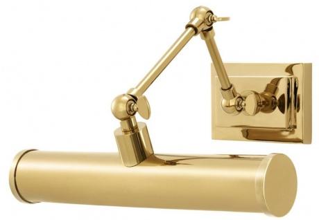Casa Padrino Wandleuchte Gold 28, 5 x 24 x H. 20 cm - Luxus Wandlampe