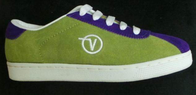Vans Skateboard Skateboard Skateboard Schuhe- Lucy- Lime/Purple 4e4858