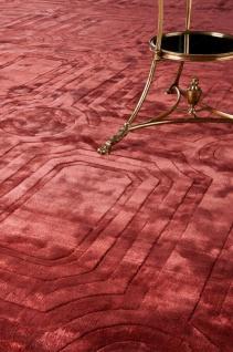 Casa Padrino Luxus Wollteppich Rubinrot - Verschiedene Größen - Handgewebter Luxus Teppich