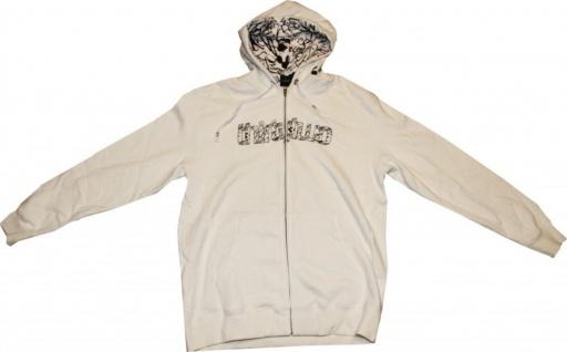 ThirtyTwo Skateboard Zip Hood Splatter White Sweater