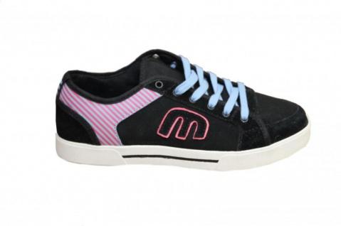 Etnies Skateboard Schuhe Rhea Black/Pink/ Cyan Sneakers Shoes - Vorschau 1