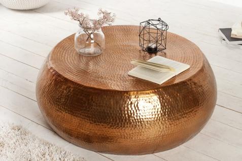 Casa Padrino Luxus Couchtisch kupfer 82 cm kupfer - Wohnzimmer Salon Tisch - Vorschau 4