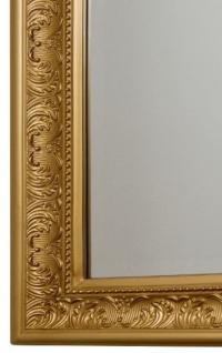 Casa Padrino Barock Wandspiegel Gold 62 x H. 187 cm - Handgefertigter Spiegel im Barockstil - Vorschau 3