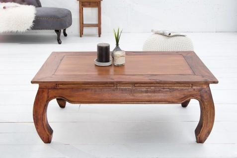 Casa Padrino Designer Massivholz Mahagoni Couchtisch Natur B.100cm x H.40cm x T.60cm - Salon Wohnzimmer Tisch - Vorschau 2