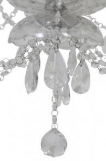 Casa Padrino Barock Decken Kristall Kronleuchter Klar Durchmesser 82 x H 84 cm Antik Stil - Möbel Lüster Leuchter Deckenleuchte Hängelampe - Vorschau 2